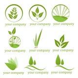 Företags logoer Royaltyfri Fotografi