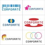 företags logoer Royaltyfri Bild