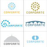 företags logoer Royaltyfria Bilder