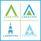 företags logovektor royaltyfri bild
