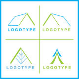 företags logovektor arkivbild