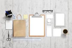 Företags mall för identitet för märkesfläck visuell royaltyfria foton