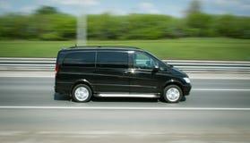 Företags minibuss Royaltyfri Bild