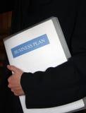 företags plan för affär Arkivfoto