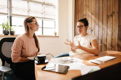 Företags professionell som möter för nya affärsidéer arkivfoton