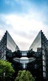 Företags skyskrapabyggnad i London Arkivbild