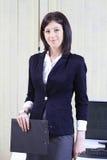Företags stående av en affärskvinna Royaltyfri Fotografi