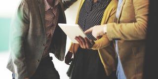 Företags Team Casual Break Discussion Ideas begrepp Royaltyfria Foton