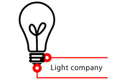 företagslampa Arkivbild