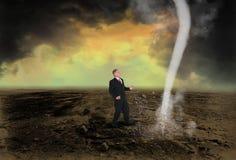 Företagsledare Sales Profit Marketing Arkivfoto