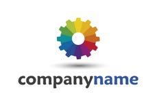 företagslogo Arkivbild