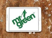 Företagslogo för herr Green Arkivbilder