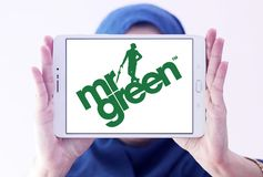 Företagslogo för herr Green Royaltyfri Bild