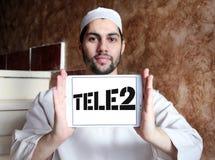 Företagslogo för Tele2 AB Arkivbilder