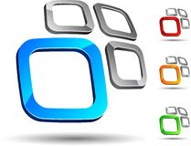 företagssymbol Arkivfoto