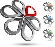 företagssymbol Royaltyfri Foto