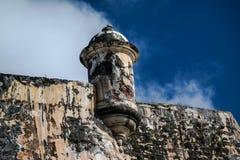 Förfalla fästningen arkivfoton