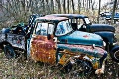 Förfalla lastbilar Royaltyfri Foto