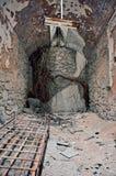 Förfalla tegelstenrum Royaltyfri Bild