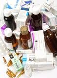 förfallen medicin arkivfoton