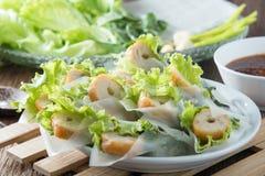 Förfallna Nham, vietnamesisk mat Arkivbild
