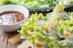 Förfallna Nham, vietnamesisk mat Royaltyfri Foto
