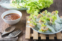 Förfallna Nham, vietnamesisk mat Royaltyfria Foton
