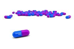 förfalskada droger Arkivfoton