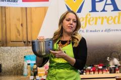 Författare och kock dArabian Melissa royaltyfri foto