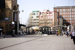 Förgårdstation Koblenz Royaltyfri Bild