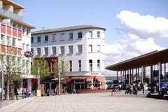 Förgårdstation Ruesselsheim Arkivfoto