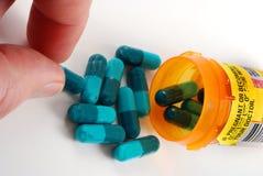 förgiftar mediciner Royaltyfria Foton