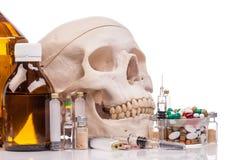 förgiftar mediciner Arkivbild