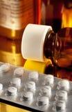 förgiftar medicinska pills Arkivfoto