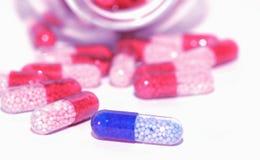 förgiftar vitamines arkivfoton