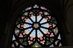 Förgyllt fönster Royaltyfria Bilder