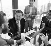 Förhandsmöte för presentation för affärsdiskussionsmöte Arkivbilder