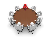 Förhandsmötelokal Arkivbilder