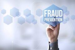 förhindrande för bedrägeri för anslutningspennhandlag Royaltyfri Fotografi