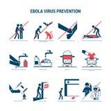 Förhindrande för Ebola virus Royaltyfri Bild