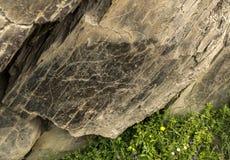 """Förhistorisk Coa-flod†""""vaggar gravyrer fotografering för bildbyråer"""