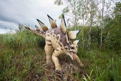 Förhistorisk dinosaurie Royaltyfria Bilder