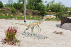 Förhistorisk dinosaurie Arkivfoto