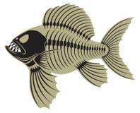 Förhistorisk fisk Arkivfoto