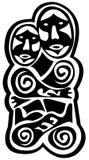 förhistorisk konst Royaltyfria Foton