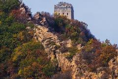 Förhistorisk tegelstenstruktur, Chifeng stad, Kina arkivfoto