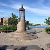 Förintelse Memorial Park på Sheepsheadfjärden Arkivbild