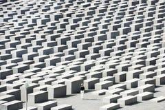 Förintelse minnes- Berlin - kvinna Arkivbild