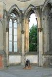 Förintelseminnesmärke, överlevande, sorg, helgon Nicholas Church, Hamburg, tysk royaltyfri bild
