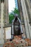 Förintelseminnesmärke, överlevande, sorg, helgon Nicholas Church, Hamburg, tysk royaltyfri fotografi